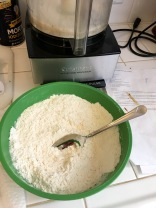 Mixing dry ingredients